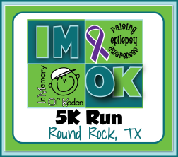 IM OK 5K Run - In Memory of Kaden