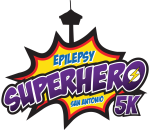 Epilepsy SuperHero San Antonio 5K Logo
